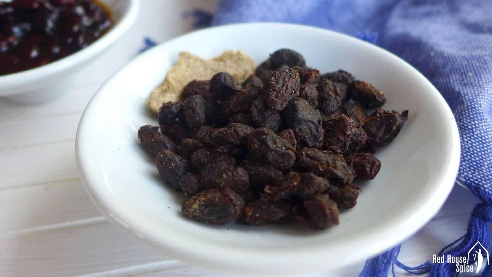 Dried fermented black beans