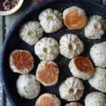 Pan-fried Shanghai Sheng Jian Bao pork buns