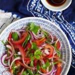 Xinjiang style tiger salad