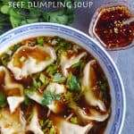 Served in a very tasty way, beef dumplings in hot & sour soup is warm, comforting and addictive. This recipe provides a step by step guide on how to make it at home.