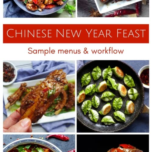 2018-Chinese New Year Feast menu suggestions