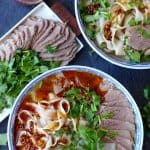Super fragrant, tangy and comforting, Lanzhou beef noodle soup is a culinary legend from the city which it's named after. Check out this simplified version!