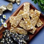Chinese peanut & sesame brittle