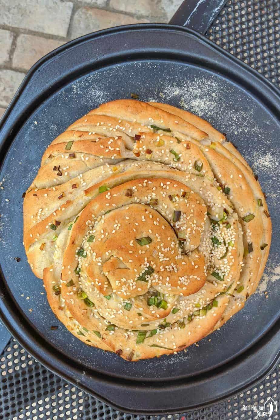 scallion bread