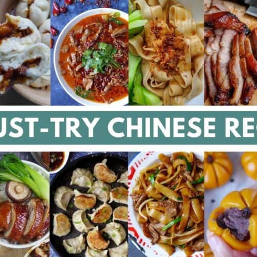 A collection of Chinese dishes