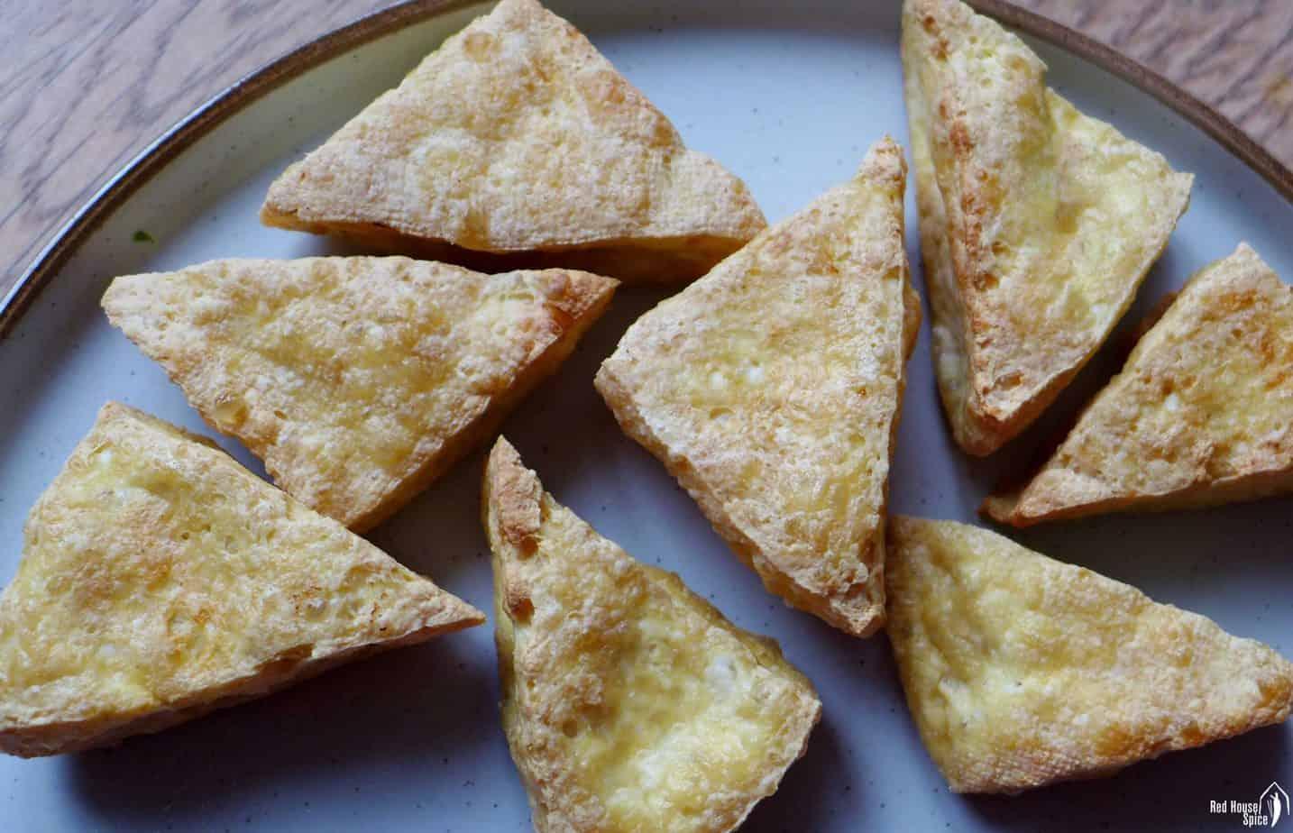 air-fried tofu