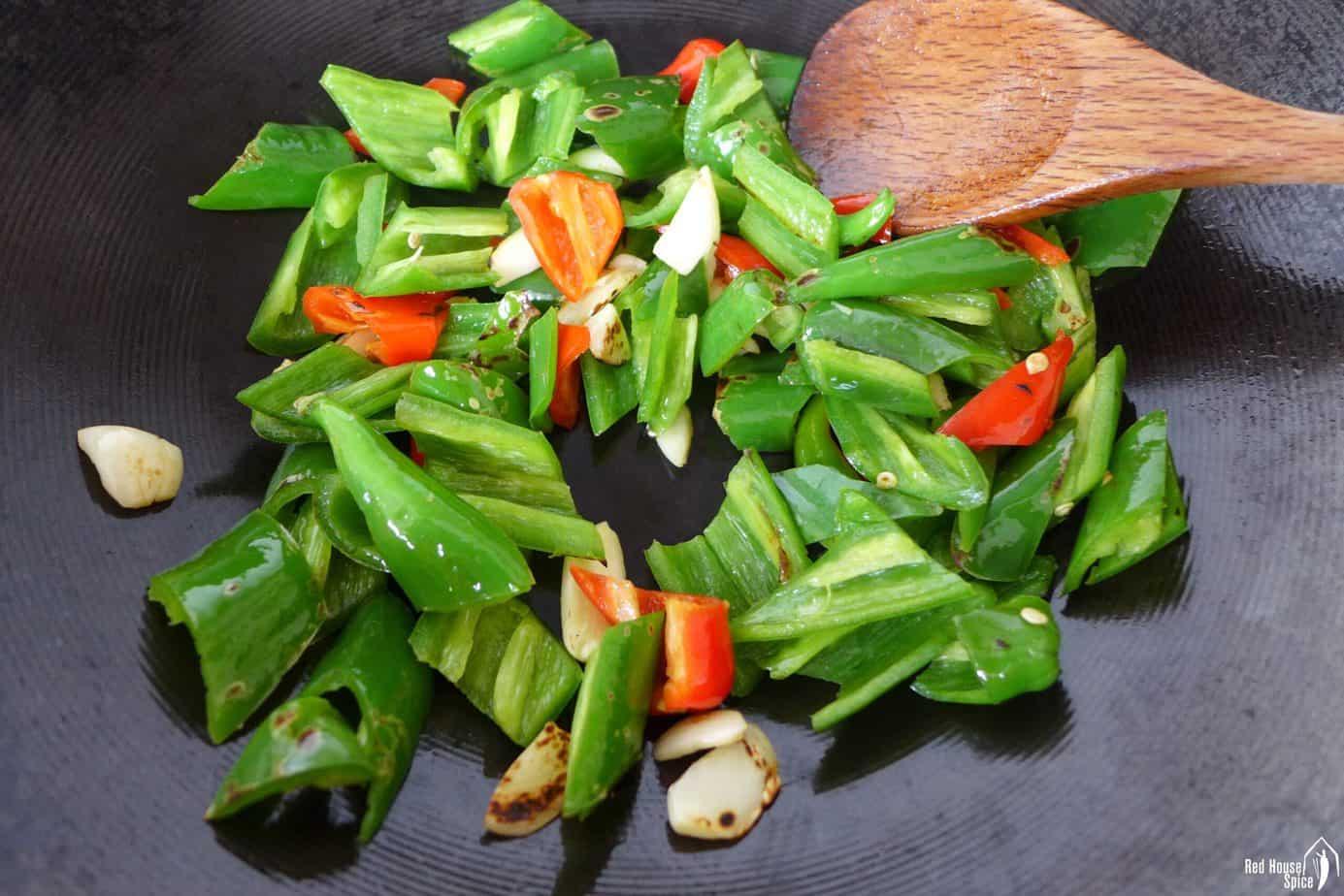 frying chili pepper