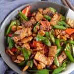 Hunan pork stir-fry