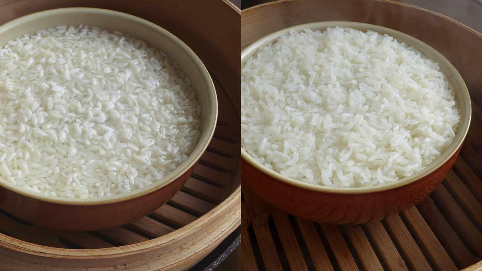 steaming eight treasure rice