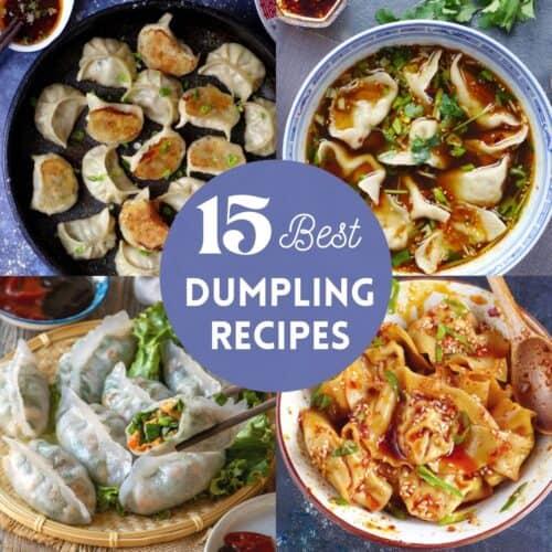 4 types of Chinese dumplings