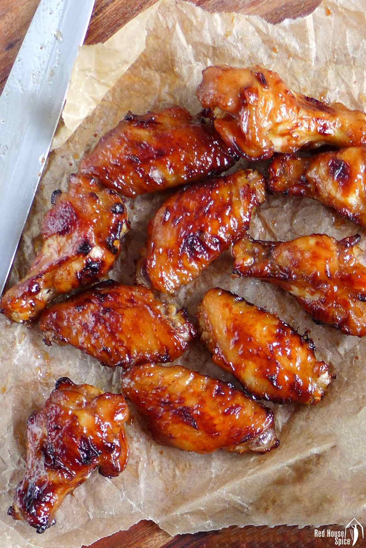 air fried chicken wings